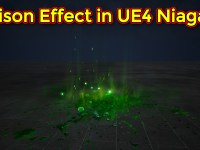 Poison Effect | Unreal Engine Niagara Tutorial