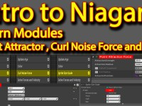 Intro to Niagara | Curl Noise | Point Attractor | Sine | Unreal Engine Niagara Tutorial
