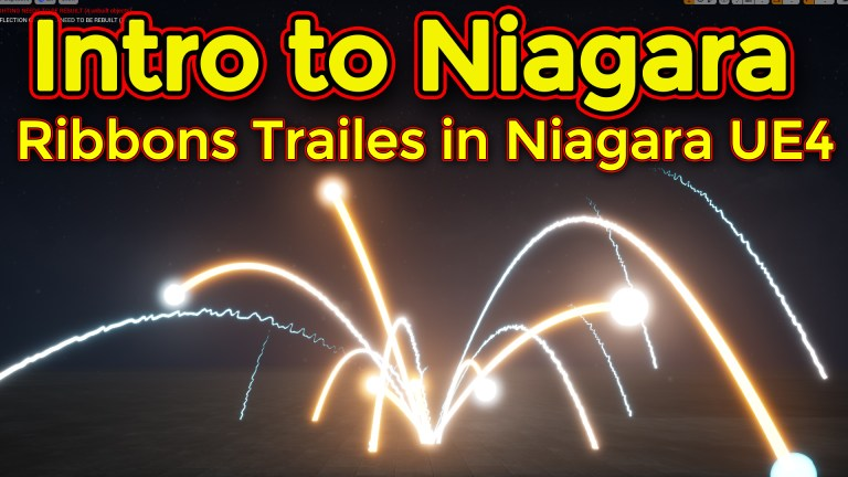 Intro to Niagara | Creating Ribbon Emitter | Unreal Engine Niagara