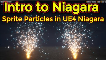 Intro to Niagara   Creating a Sprite Emitter Part 02   Unreal Engine Niagara Tutorial