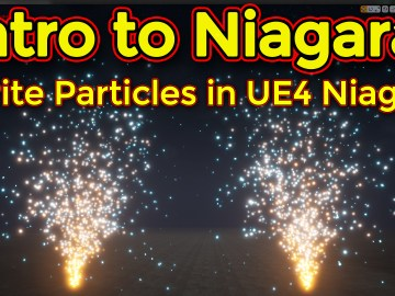 Intro to Niagara | Creating a Sprite Emitter Part 02 | Unreal Engine Niagara Tutorial