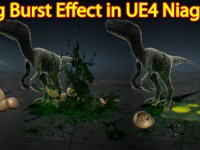 Egg Burst Effect | Unreal Engine Niagara Tutorial | UE4 Niagara Egg Explode