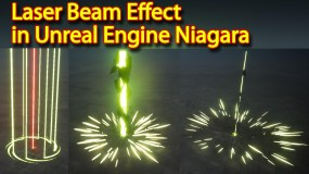 Laser Beam Effect | Unreal Engine Niagara Tutorial | UE4 Laser Beam