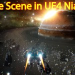 Unreal Engine Niagara Tutorial | Space Scene | Saturn Planet