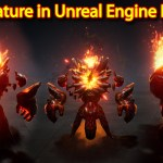 Fire Creature Effect | Unreal Engine Niagara Tutorial | UE4 Niagara Fire