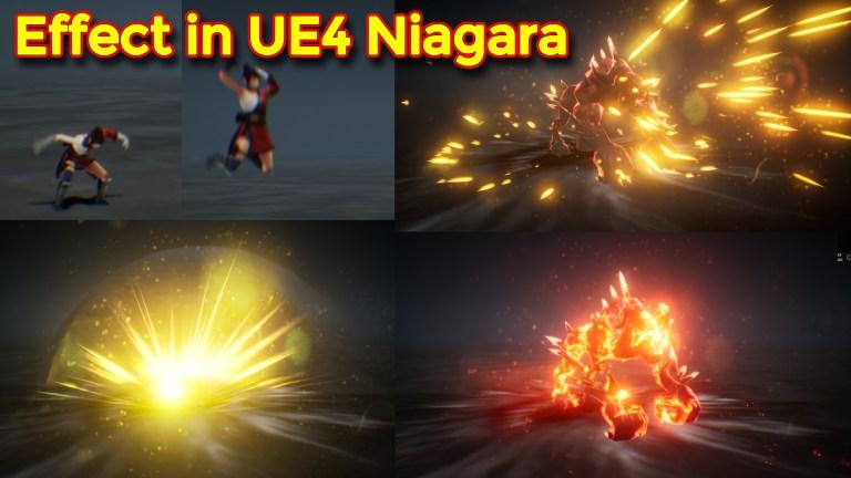 Unreal Engine Niagara Tutorials | UE4 Niagara Tutorials