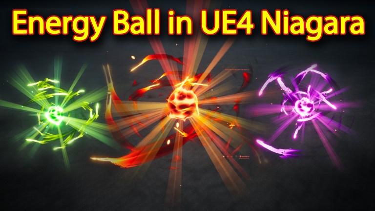 Energy Ball Effect | Unreal Engine Niagara Tutorials | UE4 Niagara Energy Ball