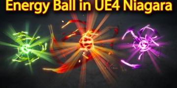 Energy Ball Effect | Unreal Engine Niagara Tutorials | UE4 Niagara Energy Ball