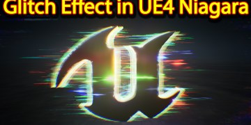 Glitch Effect | Unreal Engine Niagara Tutorials | UE4 Niagara Glitch