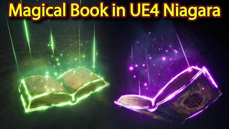 Magical Book Effect   Unreal Engine Niagara Tutorials   UE4 Niagara Magical Book