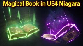 Magical Book Effect | Unreal Engine Niagara Tutorials | UE4 Niagara Magical Book