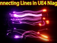 Connecting Lines Effect | Unreal Engine Niagara Tutorials | UE4 Niagara Ribbons