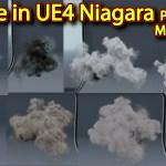 Smoke in UE4 Niagara Pack01 in Unreal Engine Marketplace