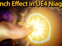 Punch Effect | Unreal Engine Niagara Tutorials | UE4 Niagara Punch FX