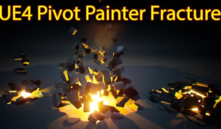 UE4 Pivot Painter Fracture   Files on Patreon