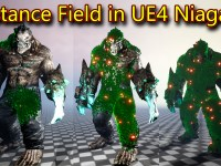 Distance Field in UE4.26 Niagara