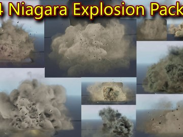 Unreal Engine Niagara Explosion Pack 05 in Marketplace