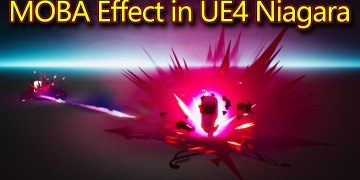 MOBA - Attack Effect | Unreal Engine Niagara Tutorials | UE4 Niagara MOBA Effect