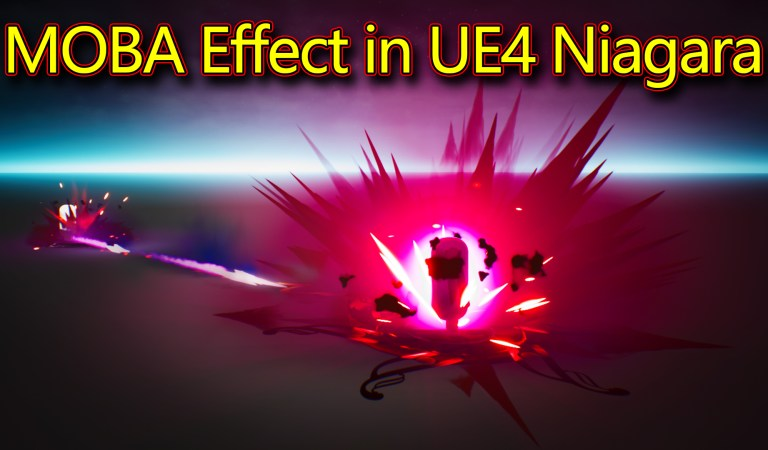 MOBA – Attack Effect | Unreal Engine Niagara Tutorials | UE4 Niagara MOBA Effect
