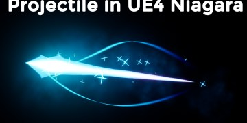 Projectile FX in UE4 Niagara Tutorial