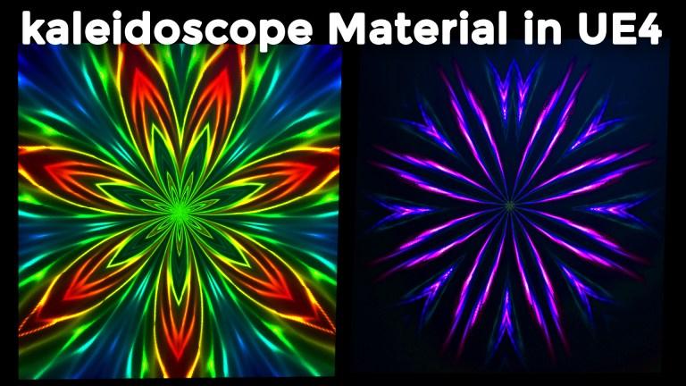 kaleidoscope Material in UE4 Tutorial