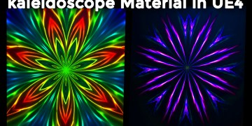 kaleidoscope Material in UE4 Tutorial