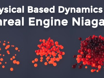 PBD | Physical Based Dynamics | Simulation Stages | UE4 Niagara Tutorial