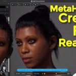 MetaHuman Creator First Reaction