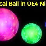 Magical Ball in UE4 Niagara for my Patreons