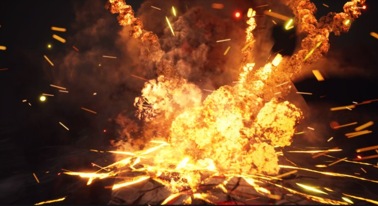 Explosions Pack in UE4 Niagara in Marketplace