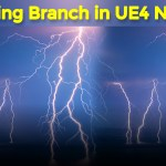 Lightning Branch in UE4 Niagara | Download Project Files
