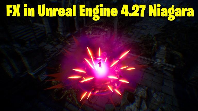 Unreal Engine 4.27 Niagara Tutorial   Dark Energy Burst FX   Download Files