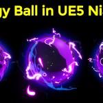 Energy Ball in Unreal Engine 5 Niagara Tutorials   Download Files