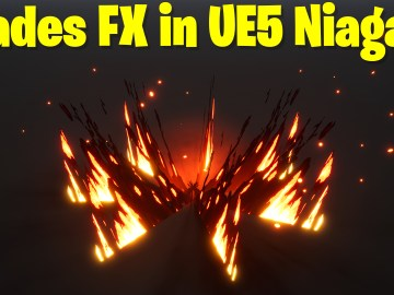 Blades FX in UE5 Niagara Tutorial | Download Files
