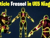 Particle Fresnel in UE5 Niagara Tutorial | Download Files