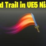 Sword Trail in UE5 Niagara Tutorial | Download Files