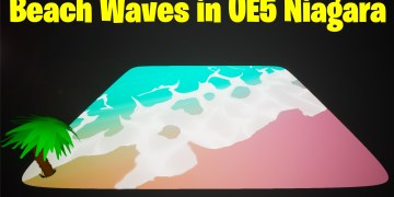 Wave in UE5 Niagara Tutorial | Download Files