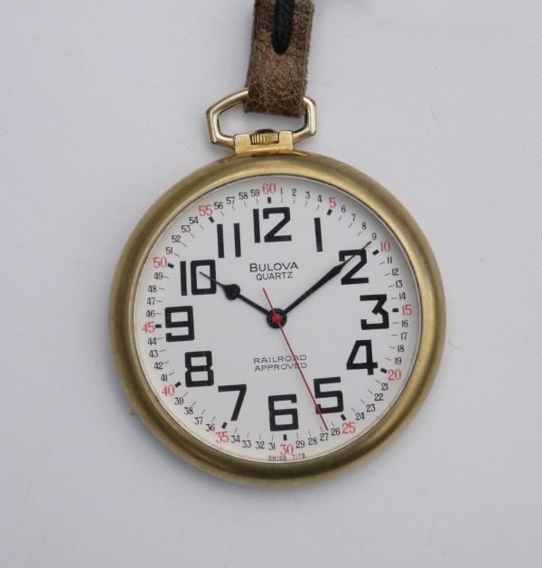 Guido' Open Face Quartz Pocket Watch Collection