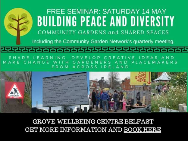 Peace, Diversity & Networking in Belfast ~ Registration Open