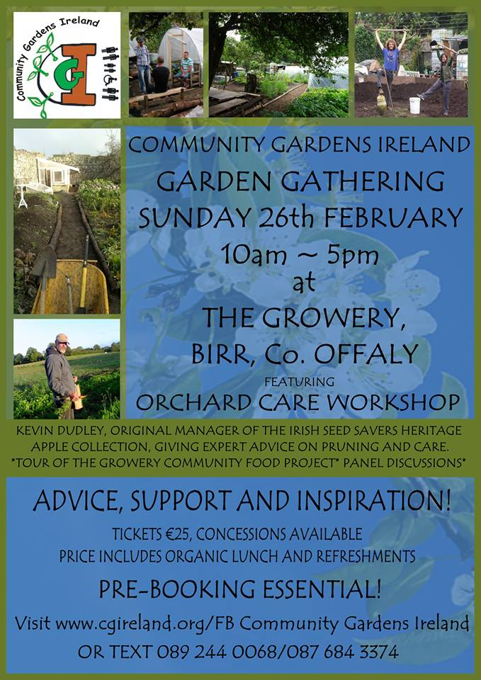 Community Garden Ieland Gathering and Orchard Care Workshop