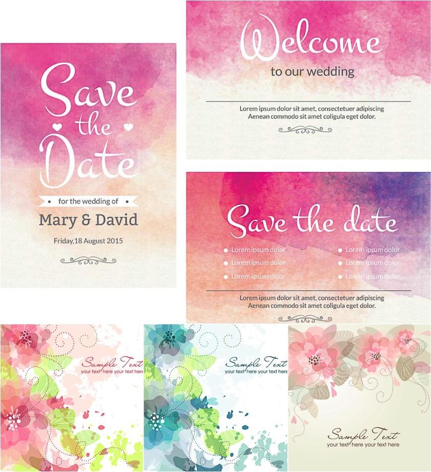 Cherry Blossoms Vine Formal Invitation Template