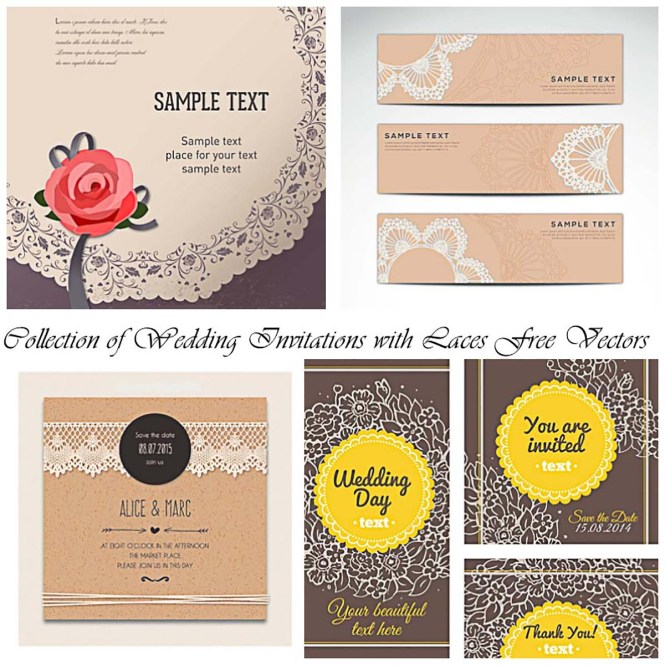 Cute Ticket Wedding Invitation