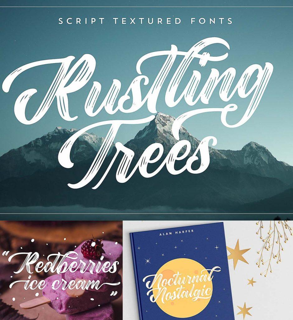Rustling Trees Font Free Download