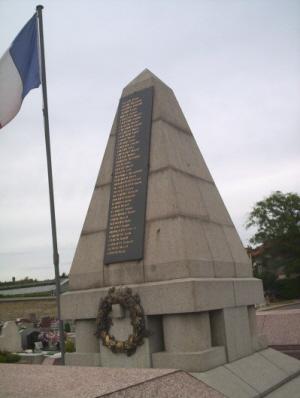 Stèle 1914-1918