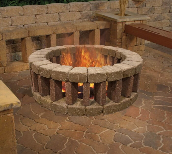 Easy diy fire pit area ideas outdoor living that won't break the bank