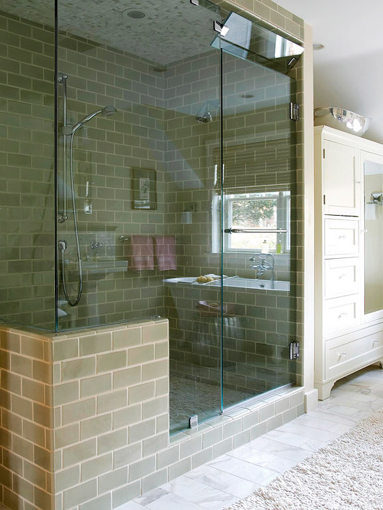 Bathroom Beautiful: walk in shower base to upgrade your bathroom