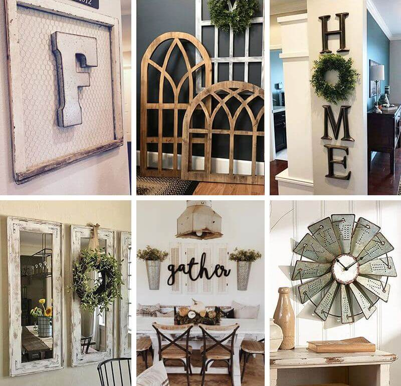 50+ Best Farmhouse Wall Decor Ideas And Designs You'll