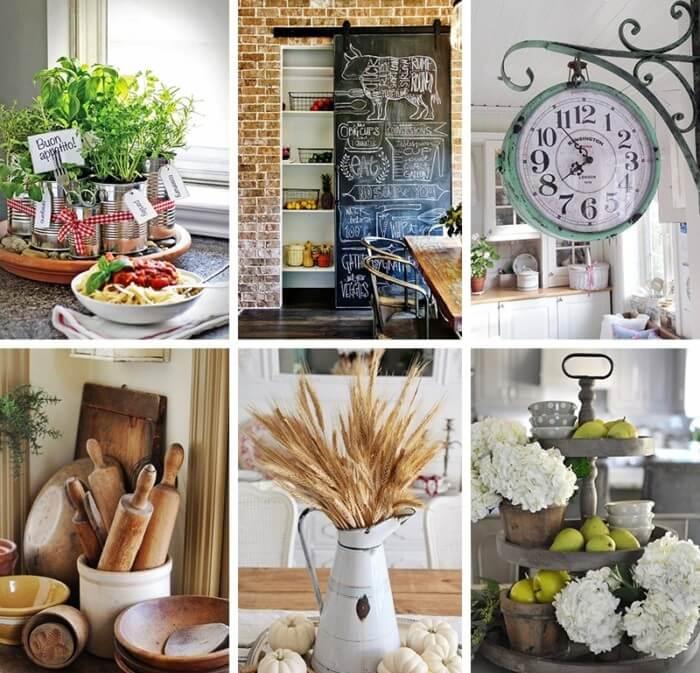 Kitchen Decorating Accessories: 22 Best Farmhouse Kitchen Decor And Design Ideas To Fuel