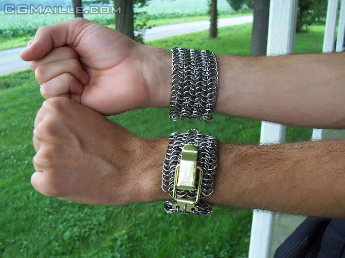Creative chainmaille tutorials and designs for beginners to get you started making chainmaille