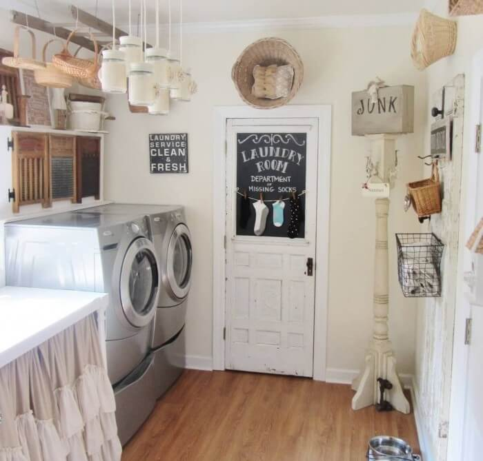 60 Beautiful Small Laundry Room Designs: 20 Beautiful Vintage Laundry Room Decor Ideas & Design For